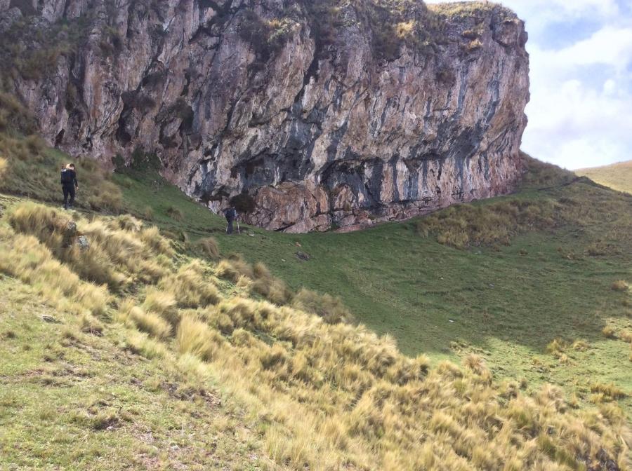 hiking Inca quarry 3 days 2 nights