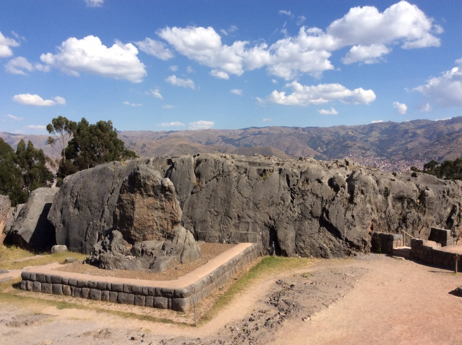 Qenqo Inca site tour in Cusco Peru