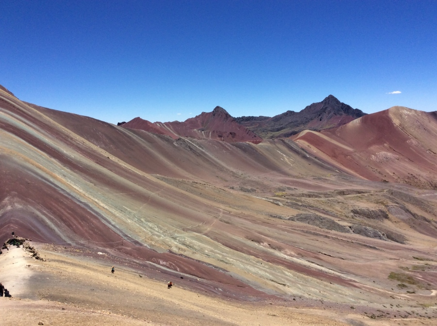 Vinicunca rainbow mountain trek Peru