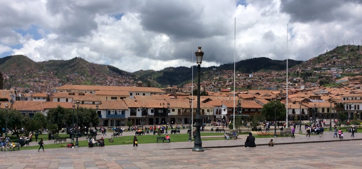 city tour Cusco in peru with tour guide