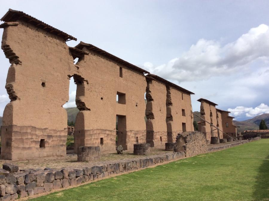 Raqchi Inca temple Cusco Peru