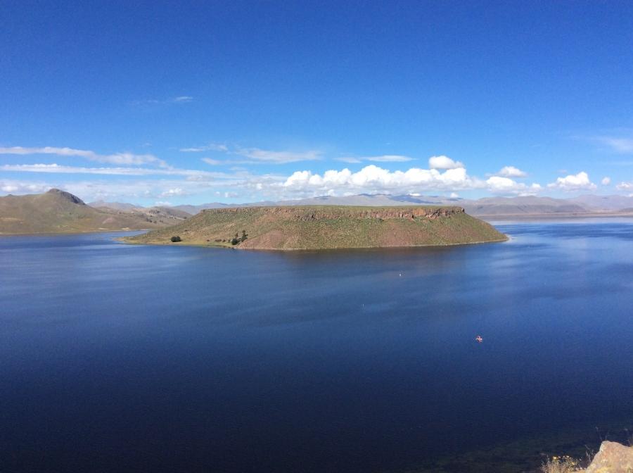 Humayo lake Puno Peru
