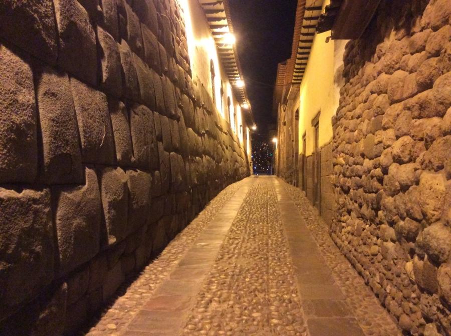 city tour Cusco at night Peru