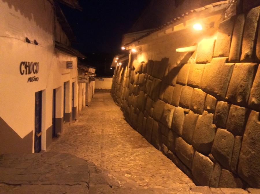 Cusco city night tour Peru