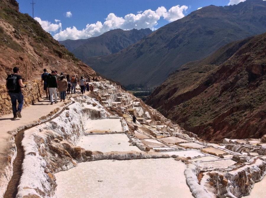 Pachamama food with Maras salt mine tour in Peru