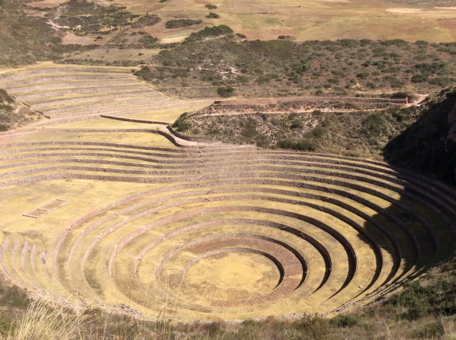 Pachamama food with Moray Inca site tour in Peru