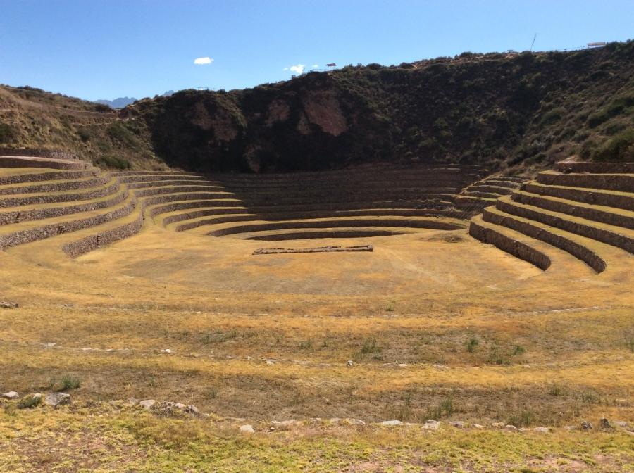 Pachamama food with Moray Inca site tour Peru