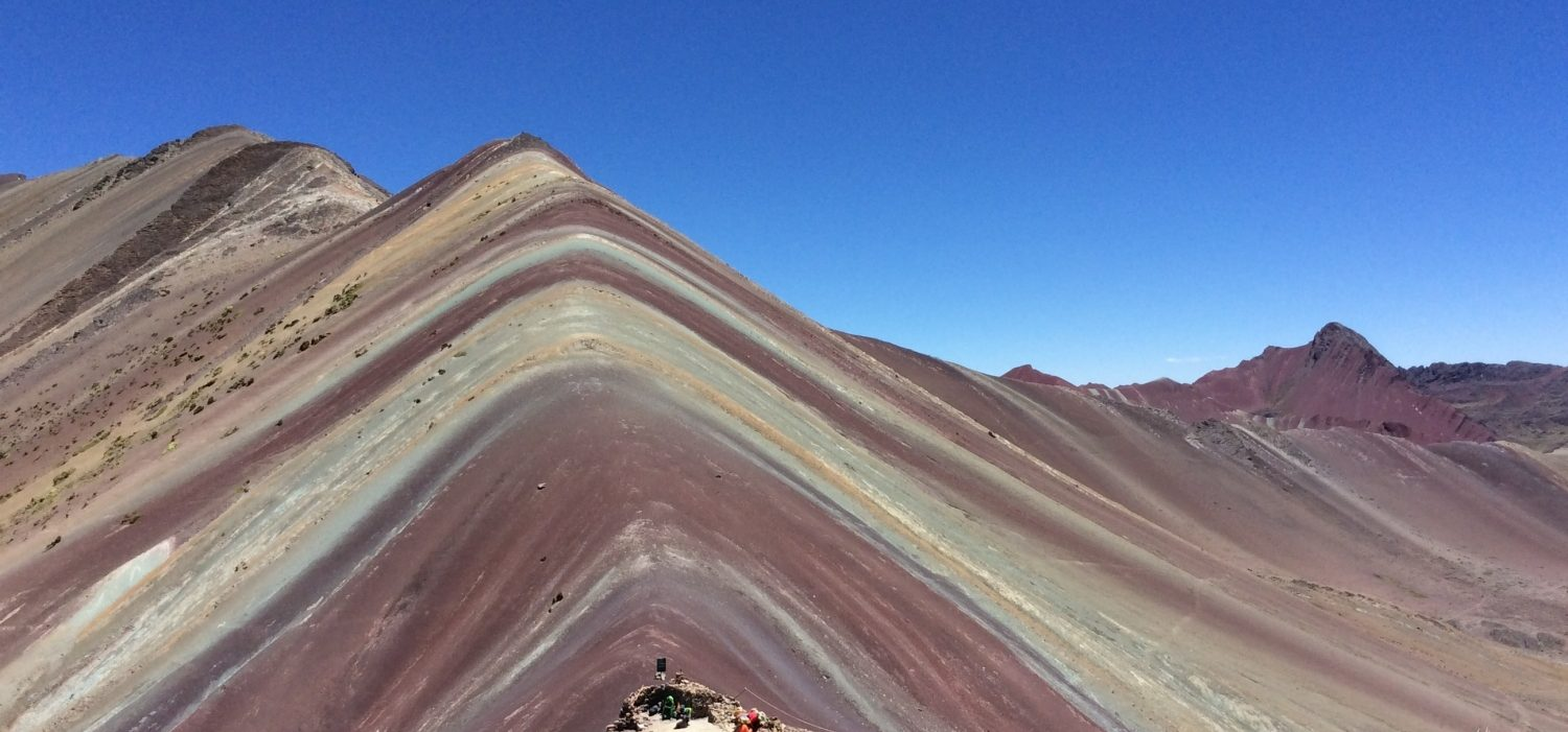 Rainbow mountain short trek