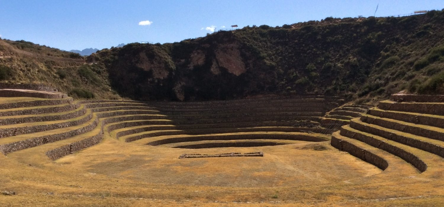 Moray Inca site with day trekking in Peru