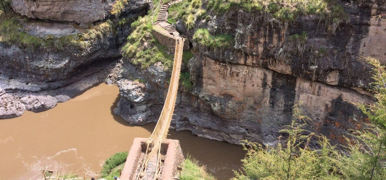 Queswachaka Inca bridge