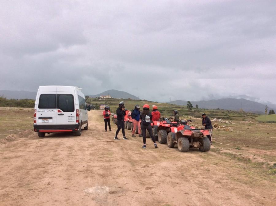 Tour ATV Moray Maras Cusco