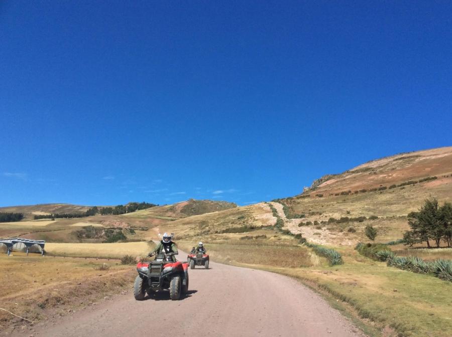 Peru ATV tour Mars Moray salt mine