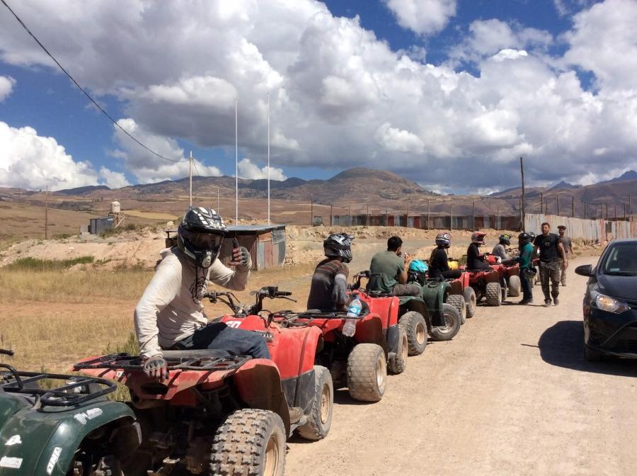 ATV tour Maras Moray