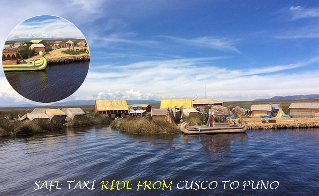 Safe transport from Cusco to Puno