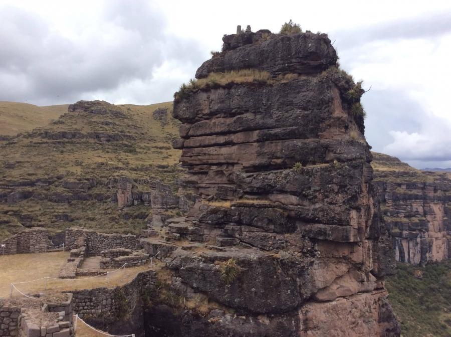 Waqrapukara-Inca-fortress-Peru