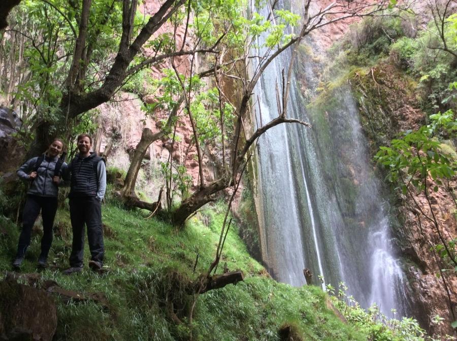 Full day Perolniyoc waterfall hike Cusco