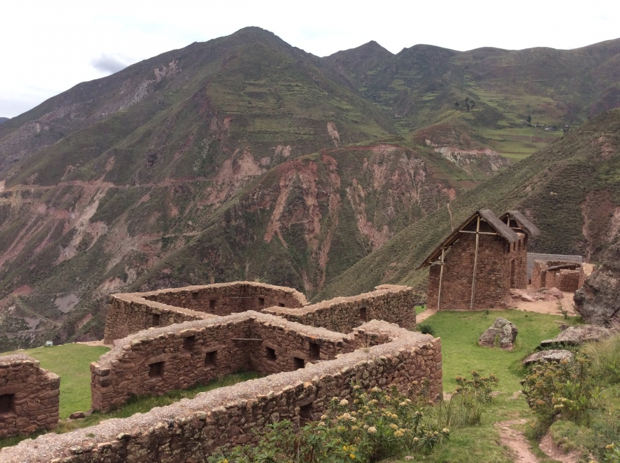 Raqaypata Inca site Ollantaytambo